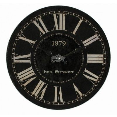 "Glas Wanduhr Hotel ""Westminster 1879"""