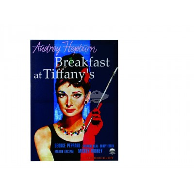"Kinoplakat Audrey Hepburn ""Breakfest at Tiffanys"""