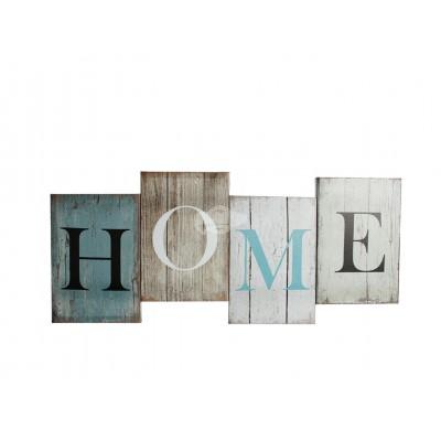 """Wandbild """"Home"""""""