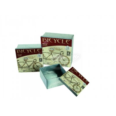 "Metallbox ""Bicycle"" 3er Set"