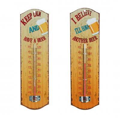 "Thermometer ""Beer"" - versch. Motive"