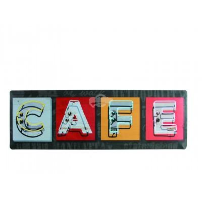 "Blechschild Nostalgie ""Cafe"""