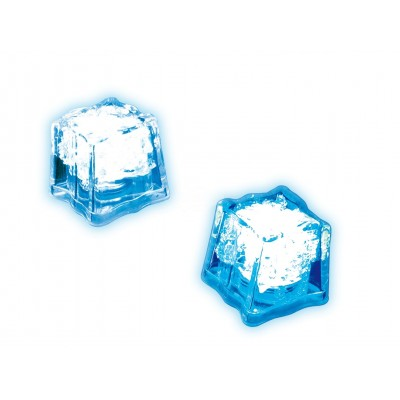 Blinkender Eiswürfel mit LED