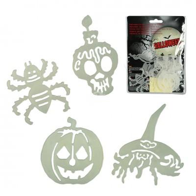 """Halloween """"Sticker"""" 12 teilig"""