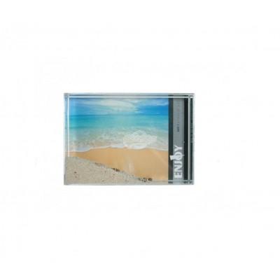3D Beach Bilderrahmen