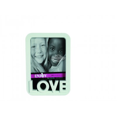 """Bilderrahmen 3D """"LOVE"""" 10 x 15 cm - versch. Farben"""