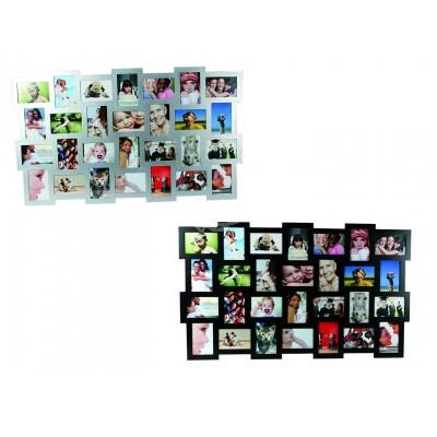 XXXL Bilderrahmen für 28 Fotos - versch. Farben