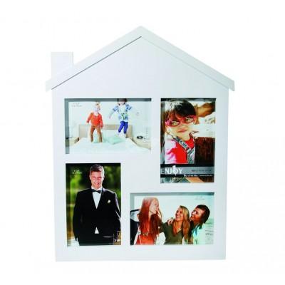 "Bilderrahmen ""Haus"" Galerie Fotocollage Familienfoto"