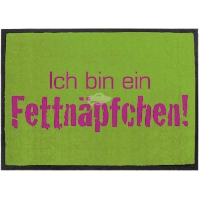 """Fußmatte """"Fettnäpfchen"""""""