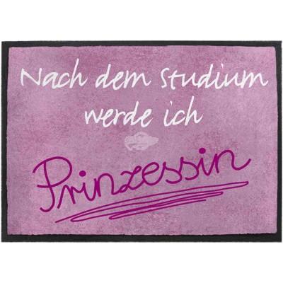 """Fußmatte - """"Nach dem Studium werde ich Prinzessin"""""""