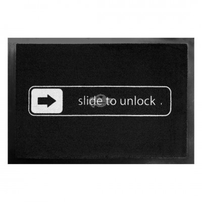Fußmatte - Slide to unlock