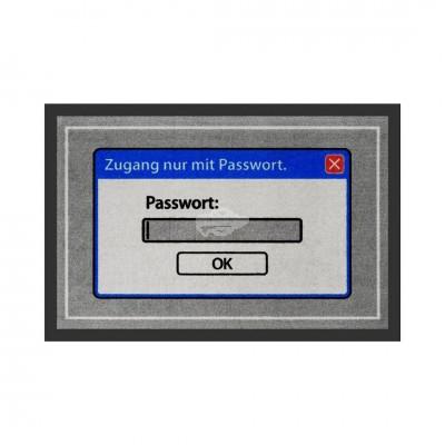Fußmatte - Passwort