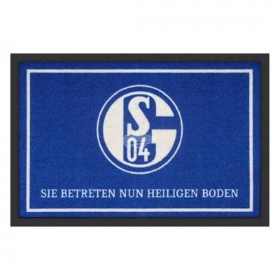 Fußmatte - Schalke 04 - Heiliger Boden