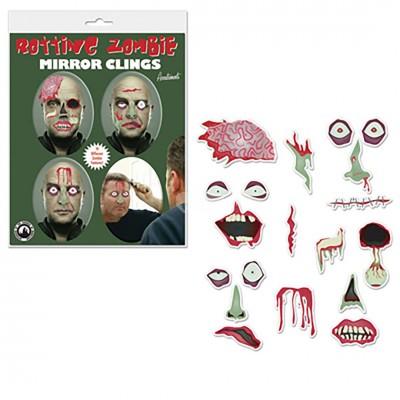 "Sticker Halloween Spiegel ""Rotting Zombie"""