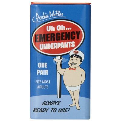 """Notfallunterhose in der Dose """"Emergency Underpants"""""""