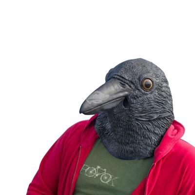 """Kostüm Maske """"Krähe"""""""