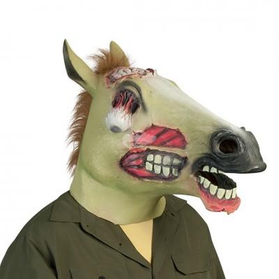 Halloween ''Zombie Pferdemaske''
