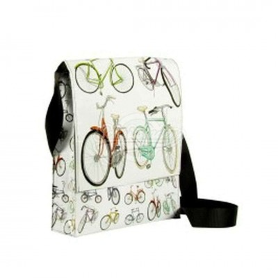 "Schultertasche ""Bicycles"""
