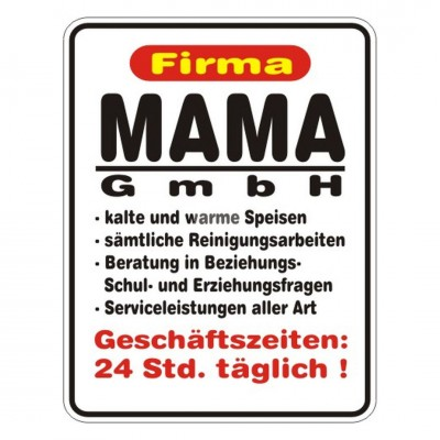 "Magnet ""Mama GmbH"""