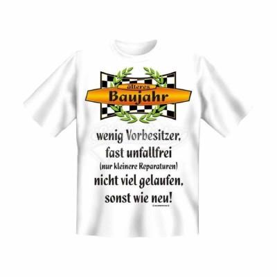 "T-Shirt ""älteres Baujahr"" - Größe L"