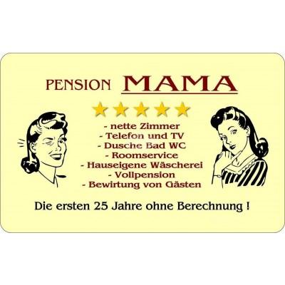"Frühstücksbrettchen ""Pension Mama"""