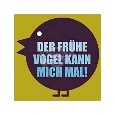 """Kühlschrankmagnet """"Der fühe Vogel"""""""