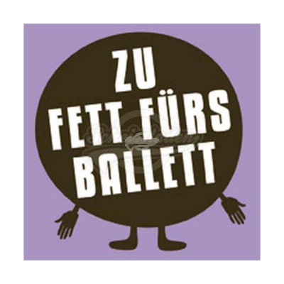 "Kühlschrankmagnet ""Ballett"""