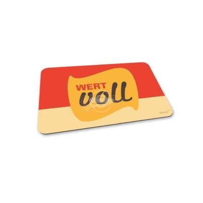"Frühstücksbrettchen ""Wertvoll"""