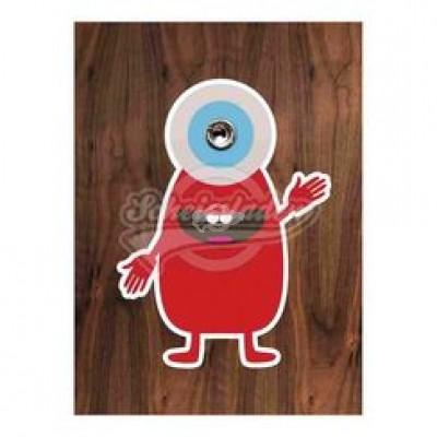 """Türspion-Sticker """"Monster"""""""