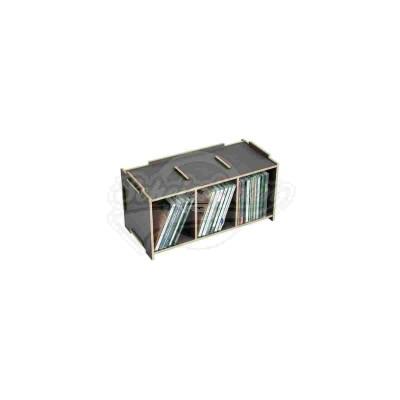 """Werkhaus """"Medienbox - CD stapelbar"""" dunkelgrau (son2053-29)"""