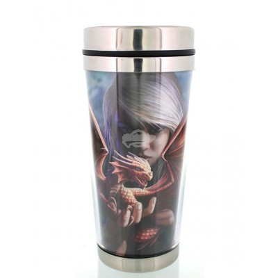 """Thermobecher - Coffee to Go Becher """"Dragonkin"""" von Anne Stokes"""