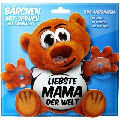 """Schild Bärchen """"Liebste Mama der Welt"""""""