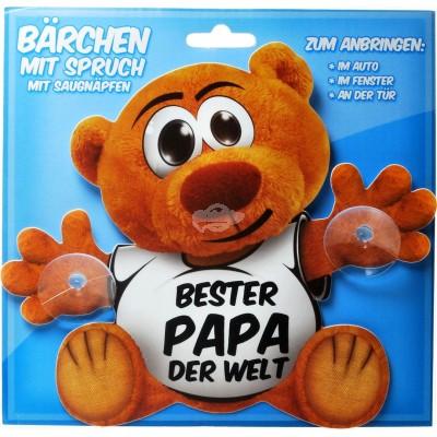 """Schild Bärchen """"Bester Papa der Welt"""""""