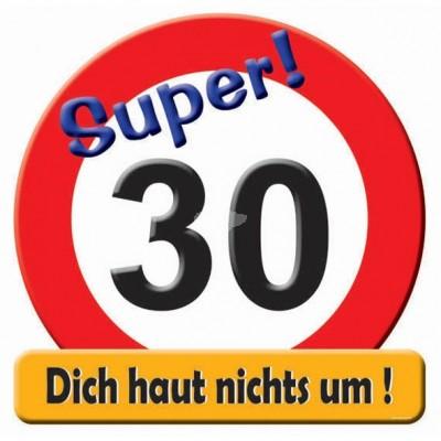 "Geburtstags - Riesenschild ""Hurra 30"""