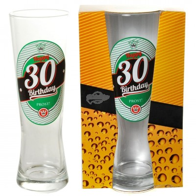 "Bierglas ""30 - Happy Birthday"""