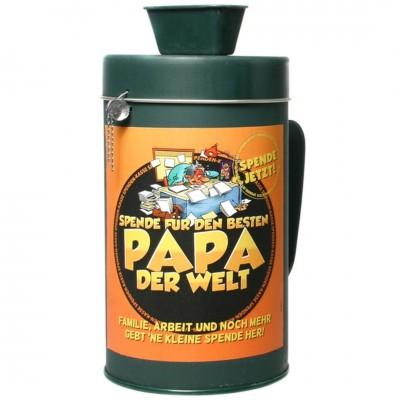 """Spendenkasse - Sammelbüchse """"Bester Papa"""""""