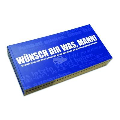 Gutscheinbuch für Männer - Wünsch dir was Mann