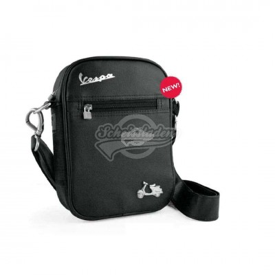 Vespa Messenger Bag schwarz