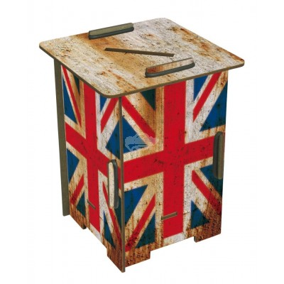 "Werkhaus Twin Box ""Flagge England"" (pp1848)"