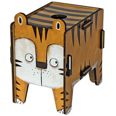 """Werkhaus TwinBox """"Vierbeiner"""" - Tiger (pp1933)"""