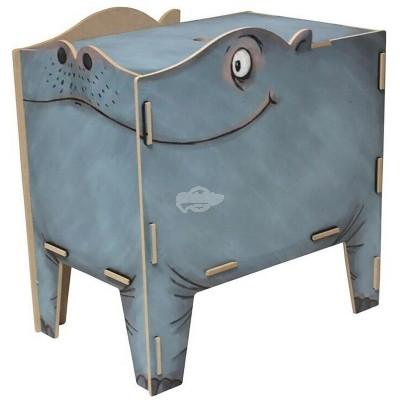 """Werkhaus TwinBox """"Vierbeiner"""" - Hippo (pp1934)"""