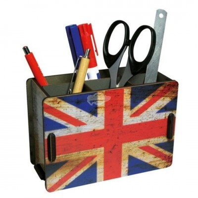 "Werkhaus Stiftebox ""Union Jack"""