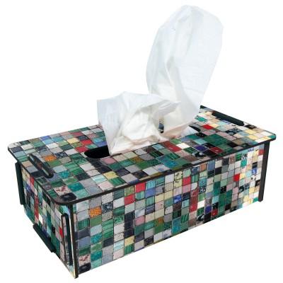 "Werkhaus TissueBox Kosmetikboxspender, ""Mosaik"" (pp9437)"