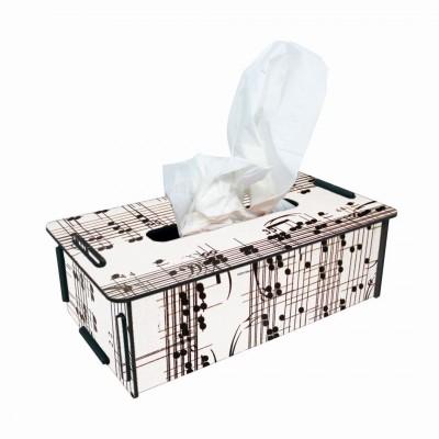 "Werkhaus TissueBox Kosmetikboxspender, ""Noten"" (pp9452)"