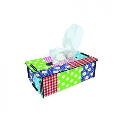 """Werkhaus TissueBox Kosmetikboxspender, """"Patchwork"""" (pp9500)"""