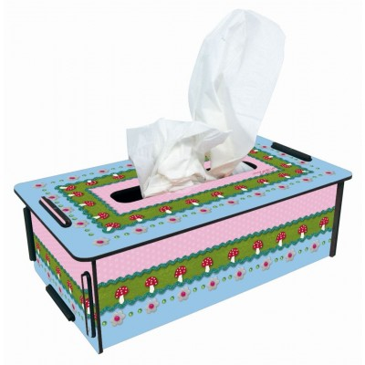 "Photo Tissue Box ""Fliegenpilz"""