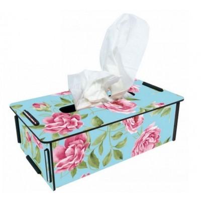 "Werkhaus TissueBox Kosmetikboxspender, ""Rose"" (pp9958)"