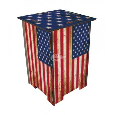 "Photohocker ""Flagge USA"""