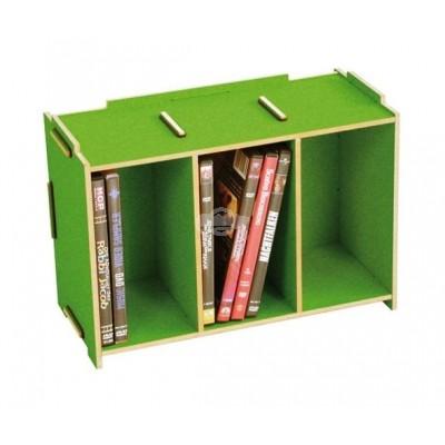 """Werkhaus """"Medienbox - DVD stapelbar"""" - grasgrün"""