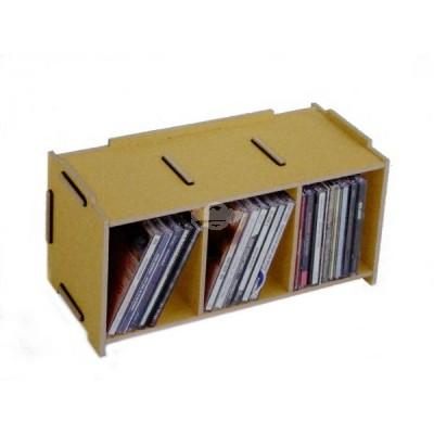"""Werkhaus """"Medienbox - CD stapelbar"""" natur (son2053-03)"""